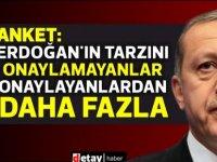 MetroPOLL: Erdoğan'a 'görev onayı' vermeyenlerin oranı verenlerden yüksek