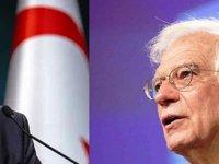 Cumhurbaşkanı Ersin Tatar, Josep Borrell'i kabul edecek