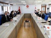 Milletvekilleri İle TBMM Dışişleri Komisyonu Üyeleri Toplantı Yaptı