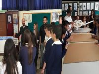 DAÜ İç Mimarlık Bölümü, Türk Maarif Koleji Öğrencilerine yönelik Olarak atölye çalışması gerçekleştirdi