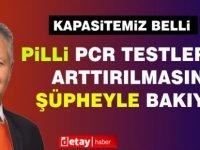 Pilli, PCR testlerinin artırılmasına şüpheyle bakıyor