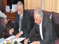 Girne Belediyesi 6 Bin 150 tonluk asfalt ihale sözleşmesi imzaladı