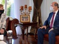 Cumhurbaşkanı Ersin Tatar, yarın Jane Holl Lute'u kabul edecek