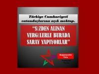 Bağımsızlık Yolu'ndan Türkiye Cumhuriyeti Vatandaşlarına Açık Mektup
