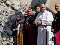 Papa Françesko Alan Kurdi'nin babasıyla görüştü