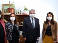 Sennaroğlu'ndan Meclis'te çalışan kadın çalışanlara ziyaret