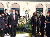 Cumhurbaşkanı Tatar, Dr. Burhan Nalbantoğlu Devlet Hastanesi Ve Pandemi Hastanesi'ni Ziyaret Etti