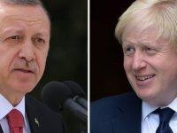 Erdoğan ve Johnson Kıbrıs meselesini görüştü
