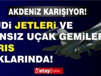 Kıbrıs açıklarında göründü! Suudiler F-15 jetlerini yolluyor