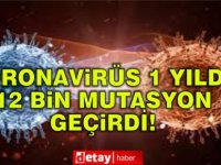 Coronavirüs 12 bin mutasyon geçirdi!