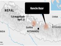 Nepal'de yine feci deprem: 7.4