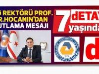 Prof. Dr. Aykut Hocanın'dan dETAY'a kutlama mesajı