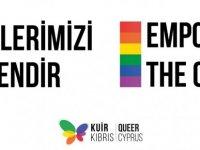 Kuir Kıbrıs Derneği'nden çağrı:Renklerimizi Güçlendir!