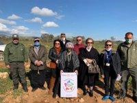Kyrenia Rotary Cosmopolitan Kulübü'nden Kalkanlı'da ağaçlandırmaya katkı
