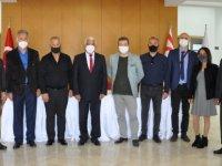 Güzelyurt'ta Belediye Merkez Binası projesinin Tamamlanması İçin İmzalar Atıldı