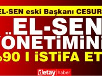Çağlayan Cesurer: El-Sen Yönetim Kurulu'nun %90'ı istifa etti!