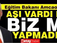 """Olgun Amcaoğlu: """"Bizim derdimiz üzüm yemek"""""""
