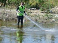 LTB sivrisinek mücadelesinin kapsamını genişletti;Dere ve göletler ilaçlanıyor, kaynaklar tespit ediliyor