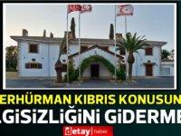 """Cumhurbaşkanlığı:""""Sn. Erhürman Kıbrıs konusundaki bilgisizliğini gidermeli"""""""