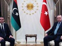 Erdoğan'dan Libya Başbakanı Dibeybe ile ortak açıklama: Yarın 150 bin doz aşıyı kendilerine teslim edeceğiz