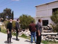 Erhürman:Haspolat'taki Asbest sorununun takipçisi olacağız