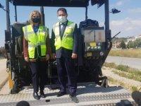 Çayırova-İskele çift şerit yol yapım çalışmaları sürüyor