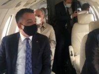 T.C Tarım Bakanı'nın uçağı havada arzalandı