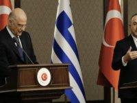 Çavuşoğlu-Dendias gerilimi sonrası Yunanistan'dan ilk açıklama