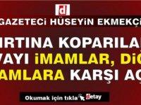 Gazeteci Hüseyin Ekmekçi davayı din görevlilerinin  birbirine karşı açtığını yazdı