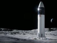 NASA'nın Ay'a astronot indirecek uzay aracını SpaceX yapacak