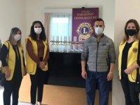 Lıonslardan Pandemi Hastanesi'ne Bağış