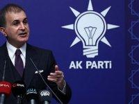 AKP Sözcüsü Çelik: Dendias'ın sözleri diplomasi tarihine yakışıksızlık örneği olarak girecek