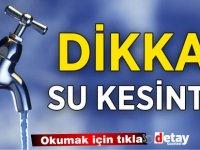 KKTC Genelinde su kesintisi!