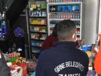 Girne'de 4 işyeri mühürlendi