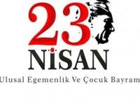 23 Nisan Ulusal Egemenlik ve Çocuk Bayramı  mesajları…