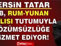 """Tatar, Annan Planı Referandumunun Yıldönümünde AB'ye Seslendi: """"Verdiğiniz Sözleri Yerine Getiriniz"""""""