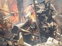 Zimbabwe'de askeri helikopter düştü: 4 ölü