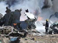 Etiyopya uçağı Somali'de düştü