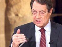 """Anastasiadis: """"Türkiye'nin Kıbrıs sorununda önerdiği çözümü kabul etmemiz mümkün değil"""""""