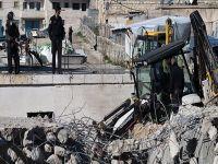İsrail Kudüs'te yıkıma devam ediyor