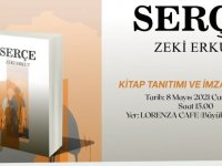 Zeki Erkut'un SERÇE Romanı Tanıtım ve İmza Etkinliği