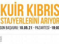 Kuir Kıbrıs Derneği staj programı için stajyer arıyor!