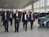 """Milli Eğitim ve Kültür Bakanı Olgun Amcaoğlu, KKTC'nin Yerli Otomobili """"GÜNSEL""""i Test Etti."""