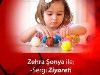 Zehra Şonya'nın  sergisi MyArt Sanat ve Yaşam Merkezi'nde