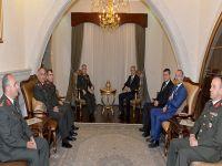 Cumhurbaşkanı, KTBK ve GKK komutanlarını kabul etti