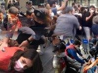 1 Mayıs Emek ve Dayanışma Günü'nde Taksim'e çıkmak isteyen gruplara polis müdahale etti, İstanbul Valiliği'nden açıklama geldi