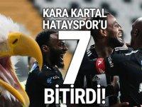 Kara Kartal, Hatayspor'u ''7'' bitirdi!