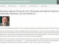 """""""Natural Product Communications"""" son sayısını YDÜ Öğretim Üyesi Prof. Dr. Başer'in 70'inci yaş gününe ithaf etti"""
