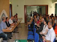 Ledra Palace Otel masasında konu 'Aile İçi Şiddet' oldu