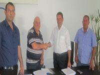 Çatalköy sosyal tesis yapım için ihale imzaladı